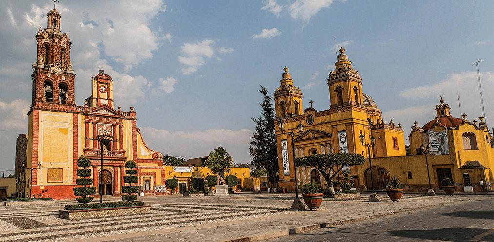 México con sus patrimonios culturales.