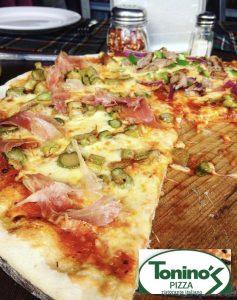 Pizzas de toninos
