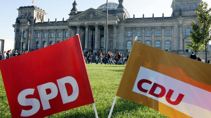 Coaliciones en Alemania