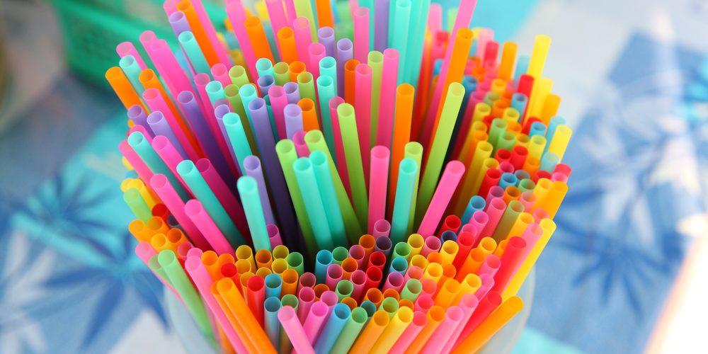 Popotes de plástico