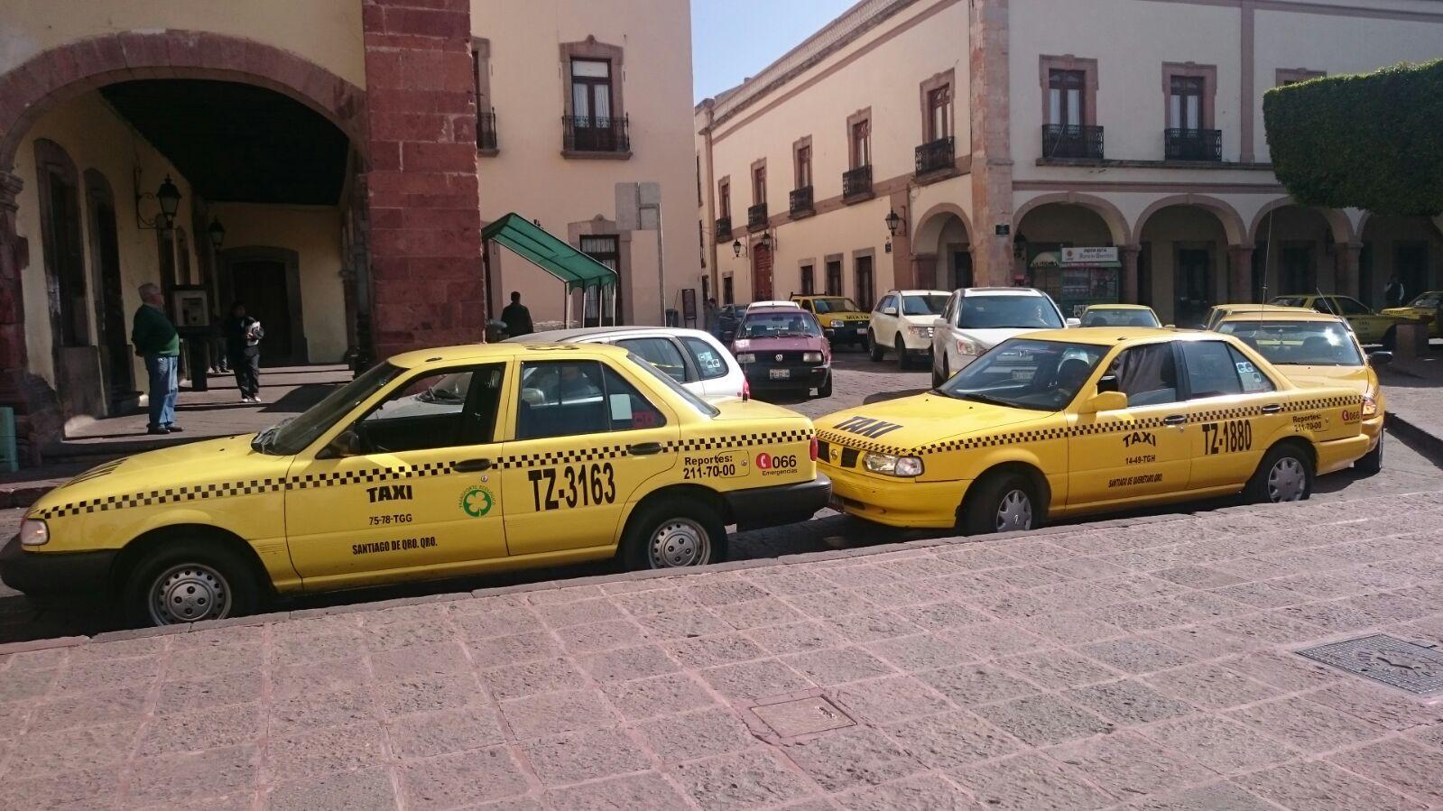 Taxímetros en Querétaro