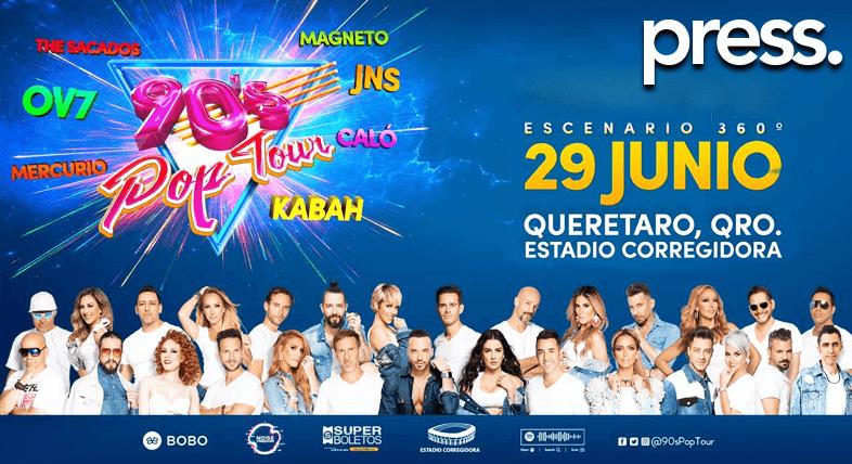 90's Pop Tour Querétaro