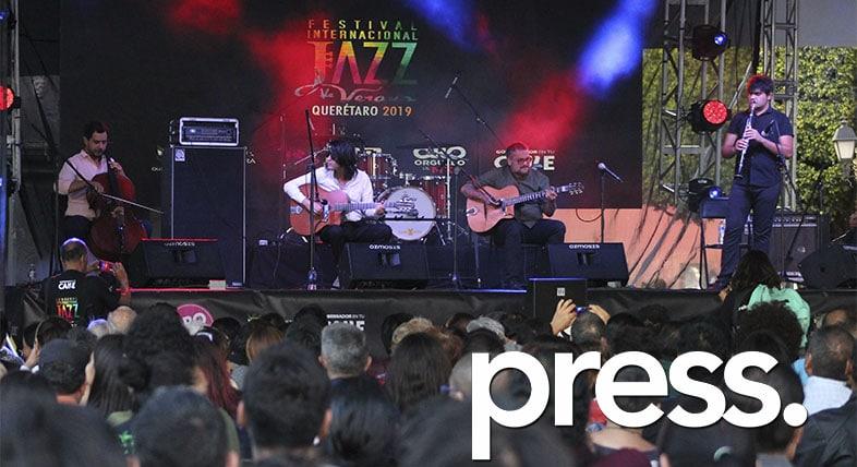 Jazz press Querétaro